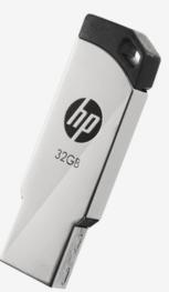 HP v236w 32GB Metal Pen Drive (Silver)