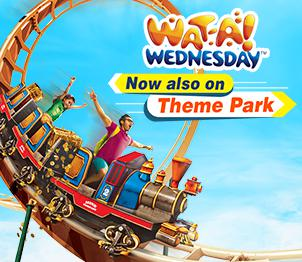 Wat-A-Wednesday Offer - Get Rs 900 Off On Theme Park Tickets