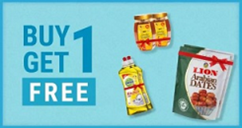 Buy 1 Get 1 Free Grocery