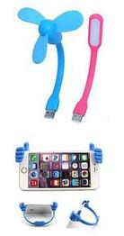 Usb Fan Usb Led Light Ok Mobile Stand Combo With Warranty