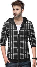 3/4 Sleeve Printed Men Jacket