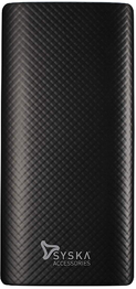 Syska Power Go 100 10000mAH Lithium Ion Power Bank (Black)
