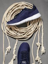 Men Navy Blue Sneakers