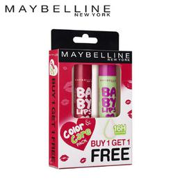 Maybelline New York Baby Lips Combo - Berry Crush With Free Watermelon Smooth Lip Balm(8gm)