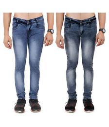 IndiRocks Multi Slim Jeans