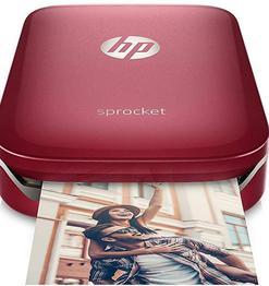 HP Sprocket Portable Photo Printer (Red)