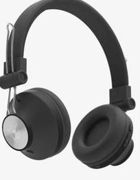 Ant Audio Treble H82 On The Ear Bluetooth Headphones with Mic (Black)