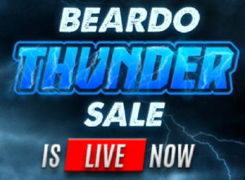 Beardo Thunder Sale - Up To 70% Off On All Products