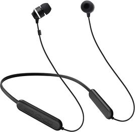 Samsung C&T ITFIT Bluetooth Wireless Earphone with Flexible Neck Band and handsfree Mic (GP-OAU019SABBI, Black)