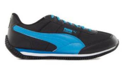 Puma Velocity Tetron II IDP Black & Blue Atoll Sneakers