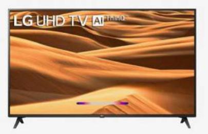 LG 109 cm (43 Inches) Smart 4K Ultra HD LED TV 43UM7300PTA (2019 Model, Black)