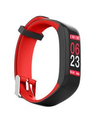 Red Fit Pro Waterproof Smart Fitness Band