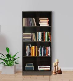 Mintwud - Hayao 8 Cube Book Shelf in Wenge Finish