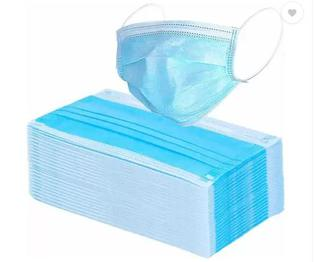 koktail Disposable Surgical Face 2 Layered Mask, Blue - 25 PIECES Anti-pollution Mask (Blue, Pack of 25)