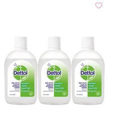 Dettol Instant Hand Sanitizer - Pack of 3