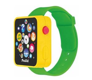 PraSid English Learner Smart Watch for Kids (Yellow Green)