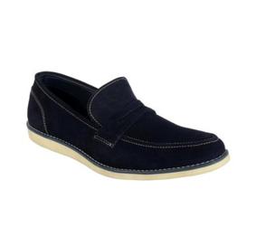 Goosebird Stylish Leather Loafer Shoe For Men