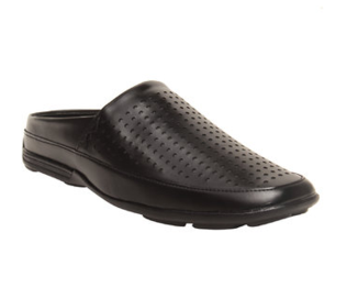 Corleone Men Black Synthetic Sandal