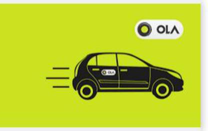 Ola Share Rides - Flat Rs 55 For 5 Km