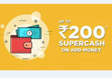 Up To Rs 200 Super Cash On Add Money