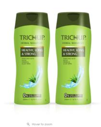 Trichup Healthy Long & Strong Herbal Hair Shampoo (200 mL x 2)