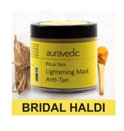 Auravedic Ritual Skin Lightening Face Mask 100 gm