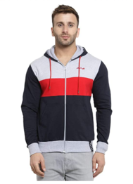 AWG - All Weather Gear Men's Cotton Hooded Hoodie