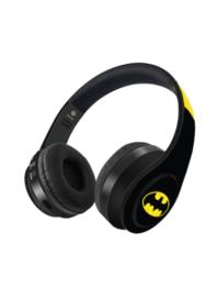 Kook N Keech - Black & Yellow Colour blocked Wireless Headphones with Batman Print