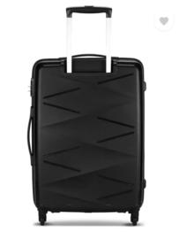 Kamiliant by American Tourister - Small Cabin Luggage (55 cm) - Kam Triprism Sp - Black