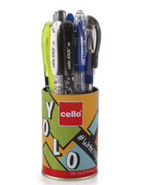 Cello Yolo Stationery Combo Pack (12 Stationery Items)