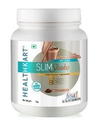HealthKart SlimShake No Added Sugar, 1 kg, Chocolate