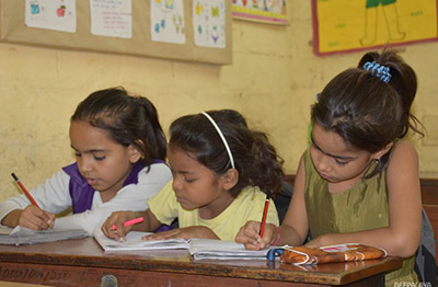 education at deepalaya learning centers