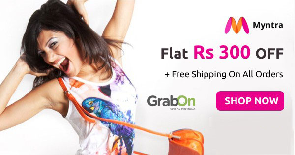 Myntra coupons, Myntra Offers & Myntra Promo Codes