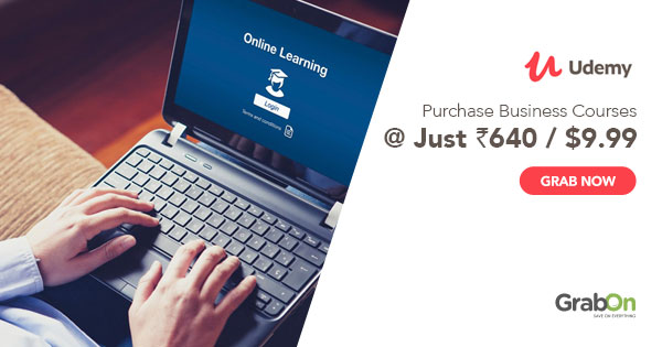 95% OFF Udemy Coupon | India Coupon Codes & Offers