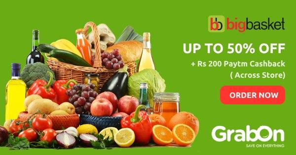 BigBasket coupons & Offers