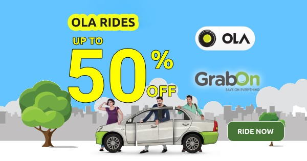 Ola coupons, Ola Offers and Ola Promo Code
