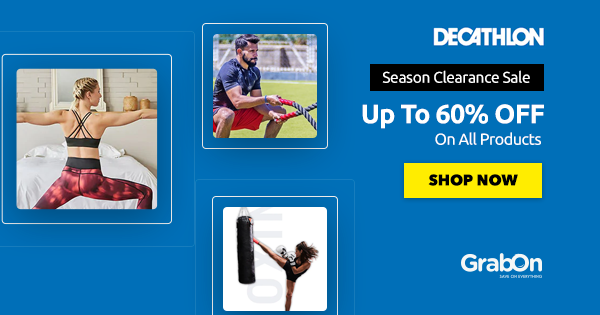 Decathlon Voucher Code | 65% OFF + FREE Shipping Coupons & Offers