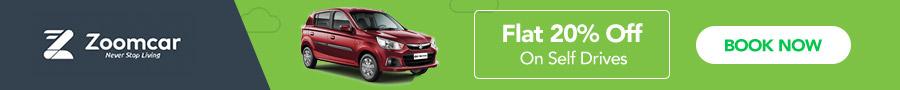 Zoomcar Promo code