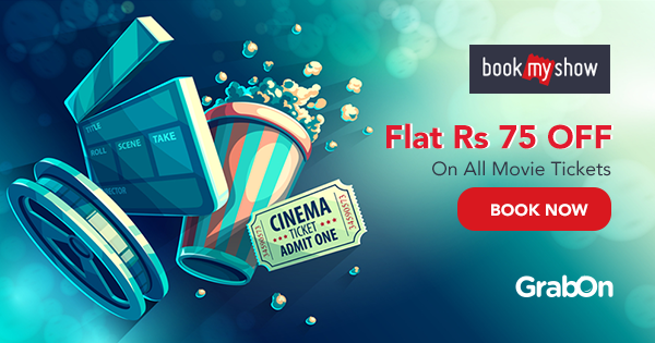 BookMyShow Coupons, Buy 1 Get 1 Free Movie Tickets Sep 2019