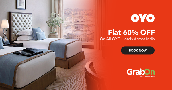 OYO Rooms Coupons & Offers: Flat 60% OFF Promo Code August 2019