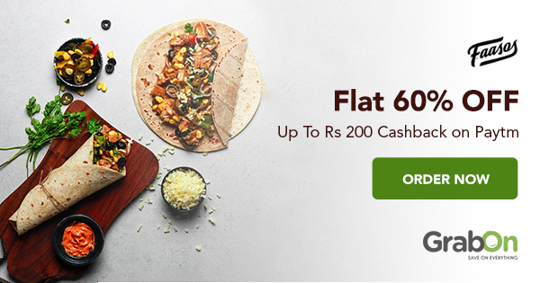 Get 30% OFF upto Rs.400 on minimum order OF Rs.999