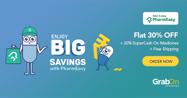 PharmEasy Coupons, Offers | FLAT 50% OFF Promo Codes | Aug 2019