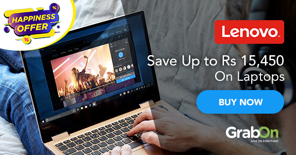 Lenovo Coupons, Offers: ₹15000 OFF Discount Code India