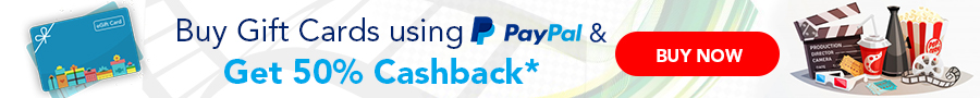 Gift Cards PayPal Offer