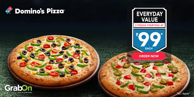Domino S Coupon Codes Offers Up To 40 Off On All Pizzas