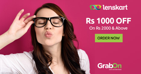 Lenskart Coupons, Offers, Vouchers | Buy 1 Get 1 Free Promo
