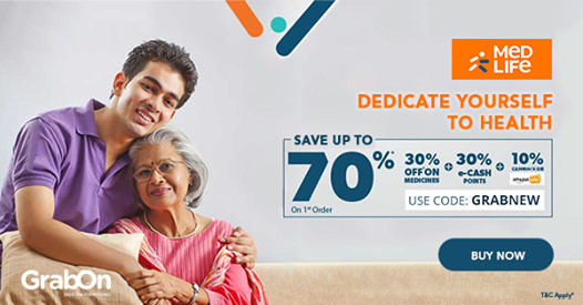 Medlife Coupons & Offers: 70% OFF Exclusive Promo Code | Aug 2019