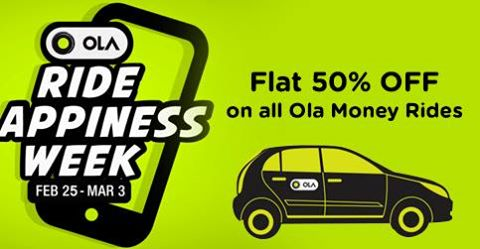 Ola Money Promo Codes