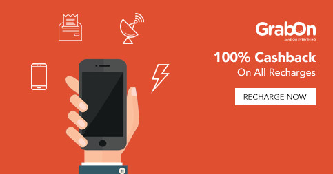 Recharge Offers & Coupons | 100% Cashback Promo Codes | Sep 2019