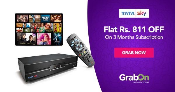 Tata Sky Coupons & Promo code: Rs 50 Cashback Recharge Offer | Aug 2019